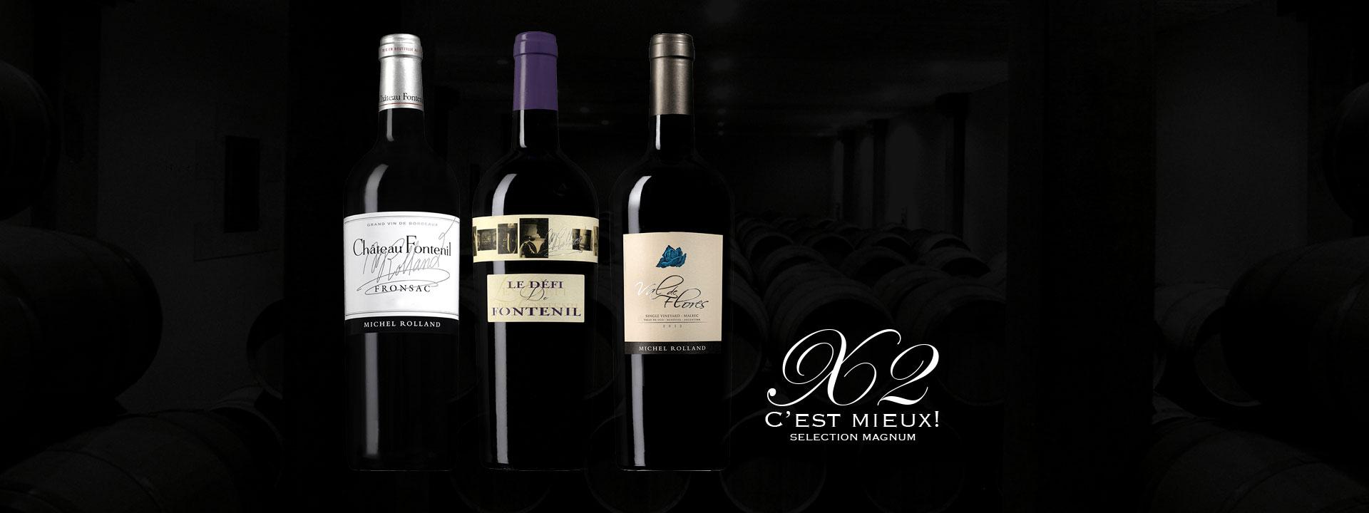Château Fontenil 2015 Magnum - Rolland Collection
