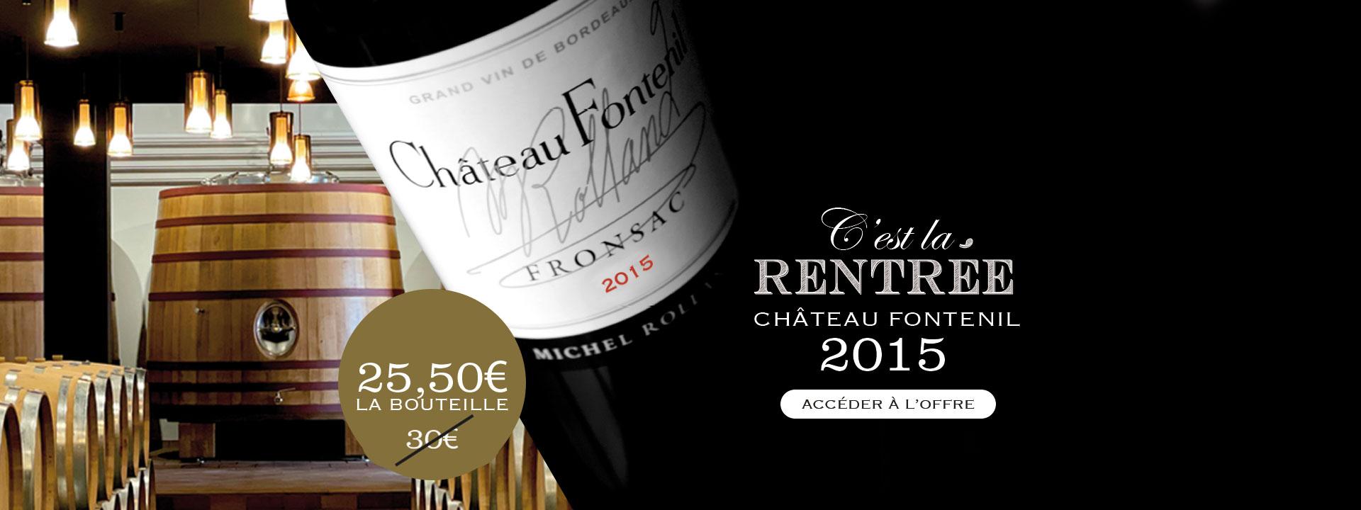 Château Fontenil 2011 - Rolland Collection